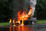 Route 8 Vehicle Fire (Shelton, CT) 8/25/06