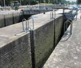Skiff lock, looking upriver.