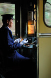 The Zen Old Train Conductor