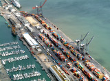 Lisbon Harbour's Containers Terminal