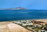 Tiran Islands. Entrance to Gulf of Aqaba