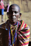 Old Masai Warrior