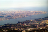 Whole Lisbon with the Two Bridges
