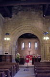 Inside the Old Norman Church