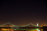 Tagus Bridge at Night