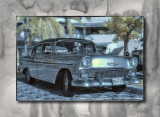 2012 - Holguin, Cuba - 56 Chevolet 210 - Infrared - HDR