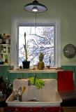La nevadita de Febrero y el fregadero