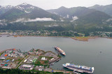 Juneau Harbour, from Mount Roberts