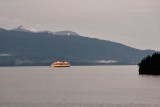 The Oosterdam under way from Juneau