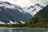 Burns Glacier, above Portage Lake