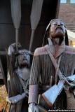 Pioneer sculptures