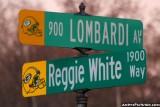 Corner of Lombardi Ave & Reggie White Way