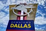 Downtown Dallas sign