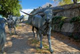 Cattle Drive sculpture