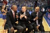 CBS Sports announcers Greg Anthony, Tim Brando & Clark Kellogg