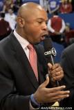CBS Sports announcer Greg Anthony