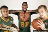 Baylor Bears' Pierre Jackson, AJ. Walton & Brady Haslip