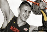 Maryland Terrapins center Alex Len