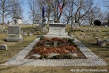 Wright Brothers' gravesite at Woodland Cemetery