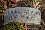 Orville Wright gravesite at Woodland Cemetery