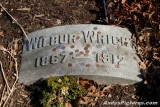 Wilbur Wright gravesite at Woodland Cemetery