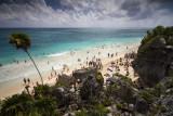 Enjoying life in the Caribbean Sea