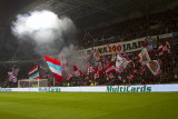 Excellent atmosphere in the Philips Stadium