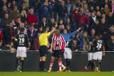 Atiba Hutchinson second yellow card