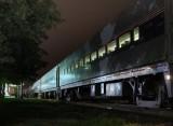 October 2012 - Trains - Disembarking the Northbound - Sharon Takade