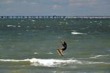 kite boarding...