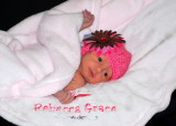 Sunday's child is full of grace....Rebecca Grace to be exact!