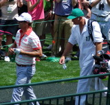 Practice Rounds (Tue and Wed) at the Masters Golf Tournament