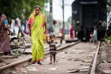 Woman and child - New Delhi