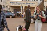 Alicia and me - Kampala