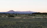 Picacho Peak from Mesilla Valley Park