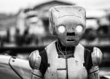 Walking, talking robot