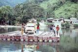 Visiting the Batak - bridge to nowhere