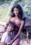 Batak mother and child