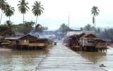 Dilapidated west coast town of Quezon
