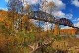 Castleton Railroad Bridge in HDROctober 21, 2012