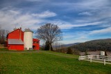 Schoharie Valley in HDRNovember 12, 2012