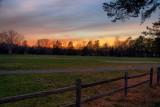 Cook Park Sunset