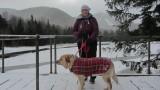 Marlee and our Dog GlindaNovember 24, 2012