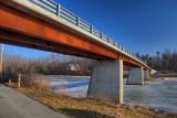 Bridge over Bike TrailFebruary 26, 2013