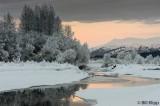 Sunrise along Chilkat River  1