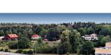 Kista gård med koloniträdgård och arbetarbostäderna på ursprunglig plats