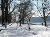 Im Winter am Rhein