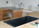 Sink installed & 1st Granite
