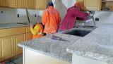 Granite Installation Almost Complete