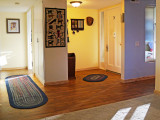 Flooring entry, kitchen, hall and guest bath